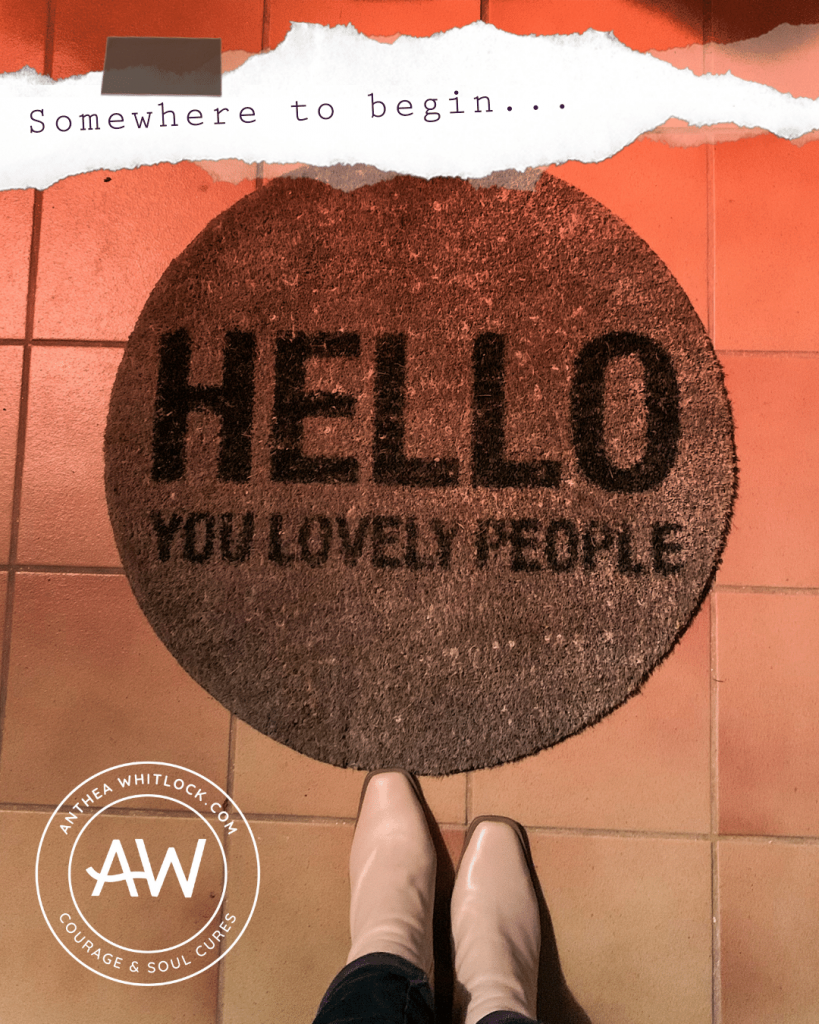 BLOG POST - Hello you lovely people: something of an introduction