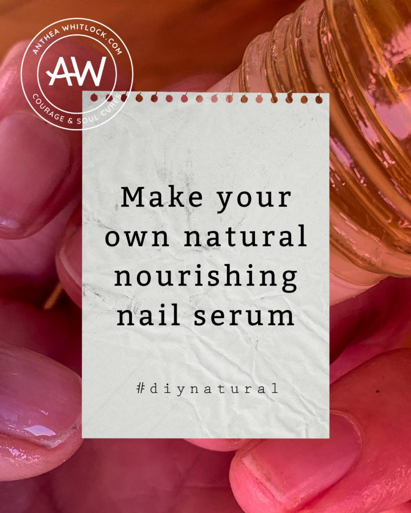 How to make your own natural nourishing nail serum with Doterra essential oils nz