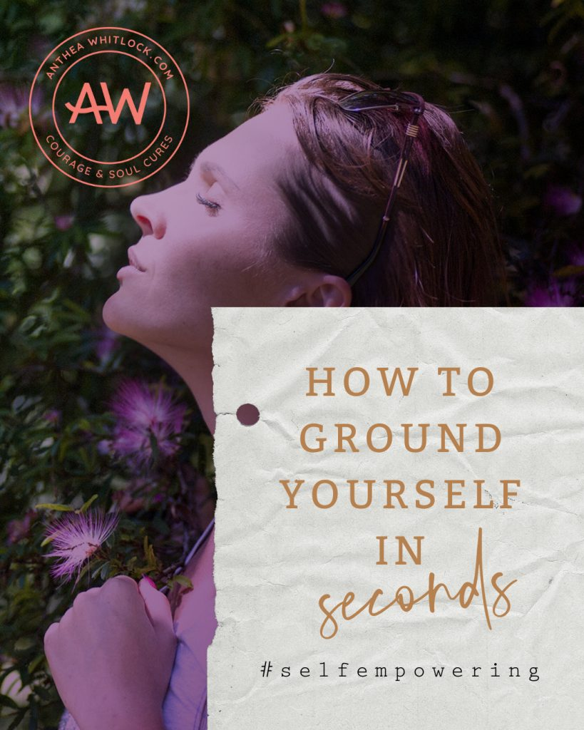 How to ground yourself in seconds with breathing