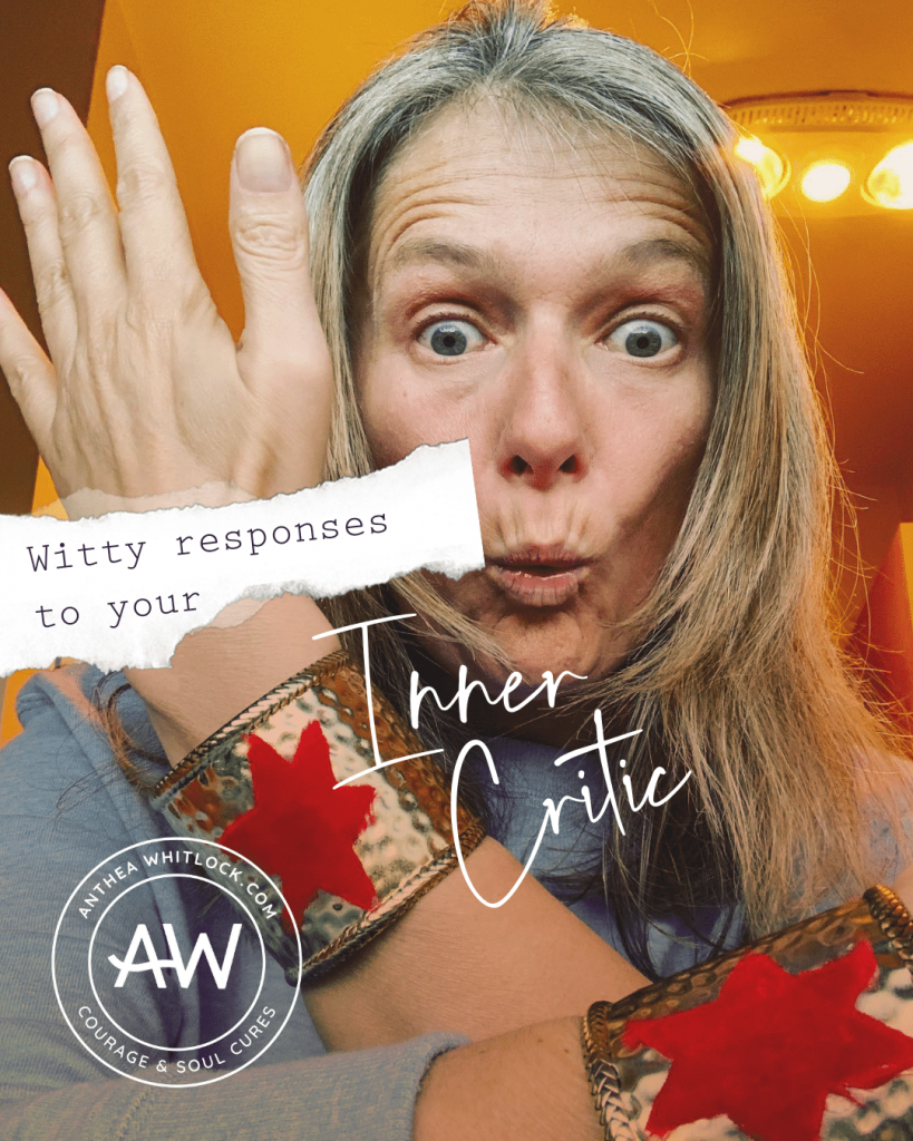Blog post - Witty responses to the inner critic