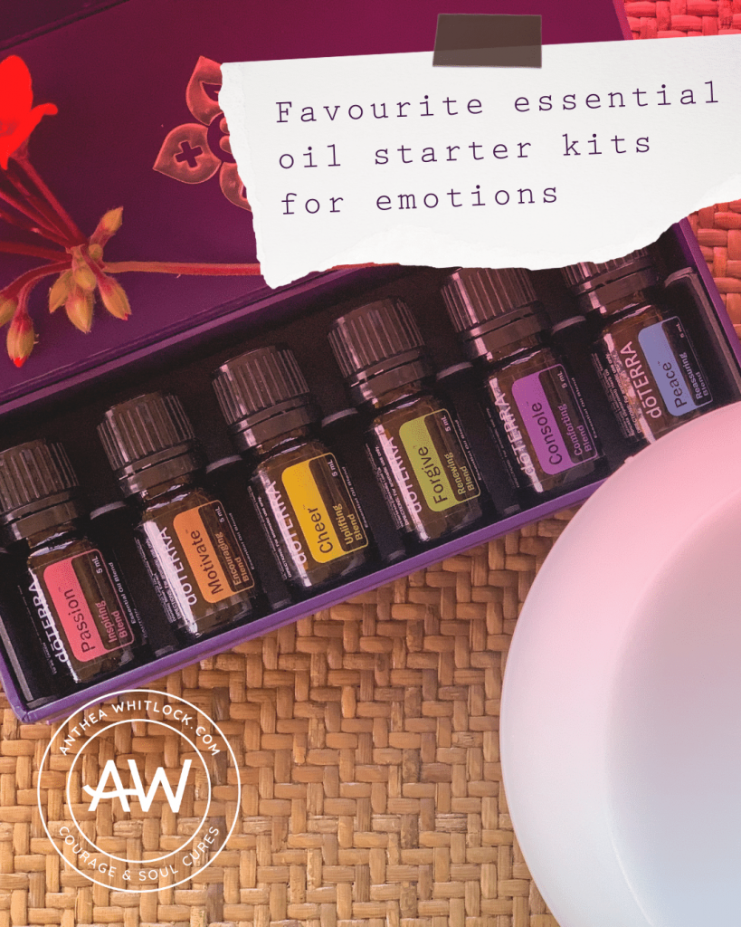 Blog post - Favourite essential oils for emotional support