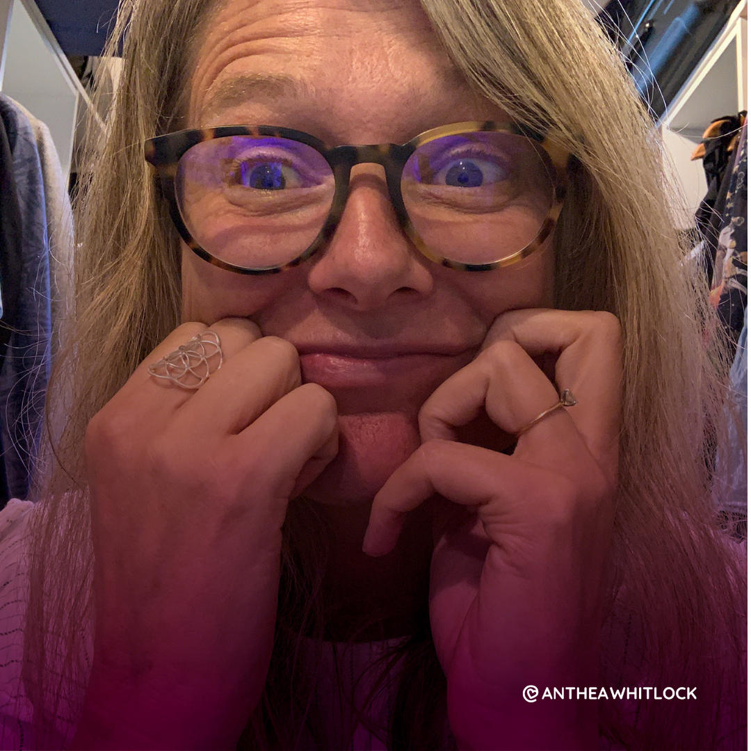 When introvert meets extrovert - This is not me hiding out in our wardrobe out of overwhelm BTW …just having a moment wondering what this next phase of our adventuring together may bring