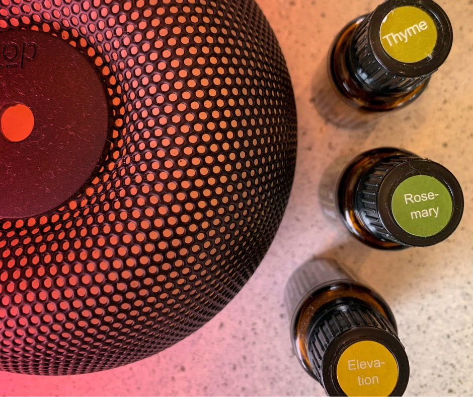 Favourite essential oil diffuser blend for when working through anger rage and resentment