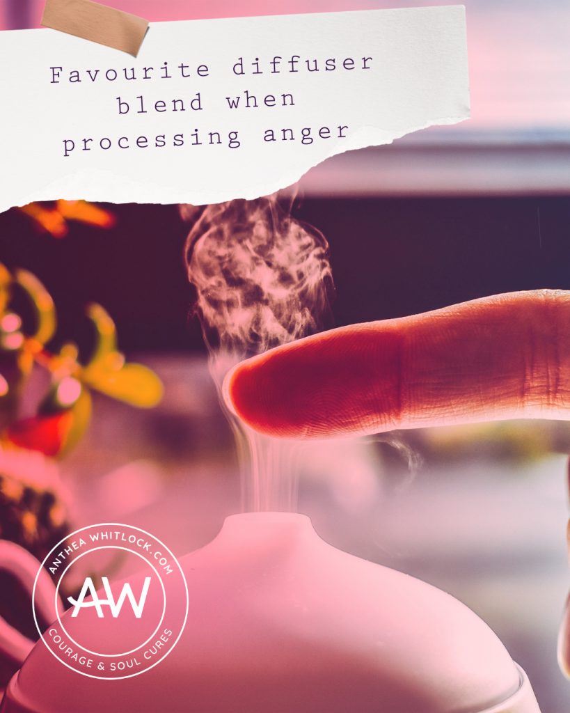 Blog post - Favourite diffuser blend when working through anger