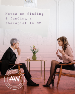 Blog post - Notes on finding, frequenting and funding for a therapist in New Zealand
